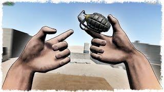 НЕ ДЕЛАЙ ЭТОГО!!! ГРАНАТЫ vs АДСКИЕ РУКИ В HANDS SIMULATOR!!!