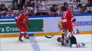 Хоккей. Россия - Канада. Взгляд изнутри, как это было.1 период.Кубок Первого канала 2017