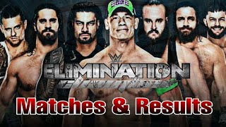 WWE Elimination Chamber 2018 Matches & Results (Prediction) 25 February 2018