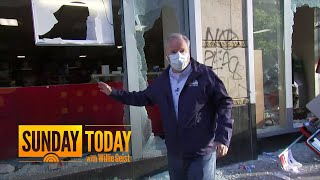 Unrest In Chicago As Looting, Fires And Destruction Reported During Curfew | Sunday TODAY