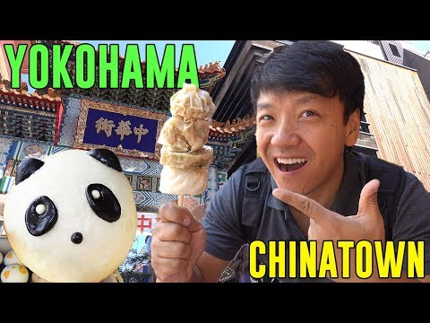 The LARGEST CHINATOWN in Asia! STREET FOOD Tour of Yokohama