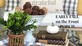 Early Fall Porch Tour & Decor Tips