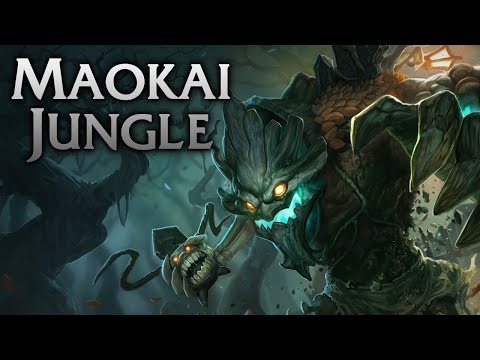 League of Legends | Haunted Maokai Jungle - Full Game Commentary