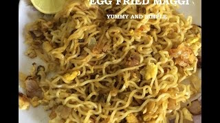Egg Fried Maggi | Yummy and Quick