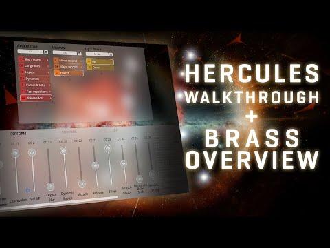 VSL Big Bang Orchestra: Brass Overview and Hercules Walkthrough ENGLISH