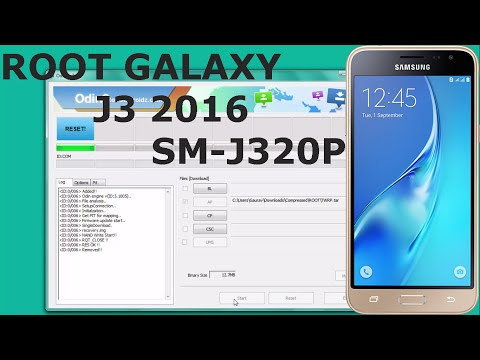 Root Galaxy J3 SM-J320P With Twrp Recovery & SuperSu