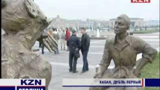 Алексей Воробьев на съемках в Казани