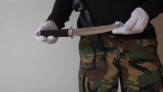 Short Sword Katana Hunting Knife - 32 см