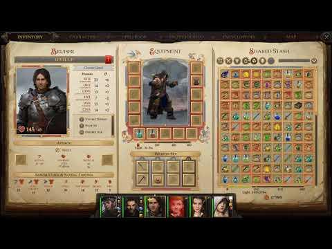 Pathfinder Kingmaker - Sword and Board Bruiser |