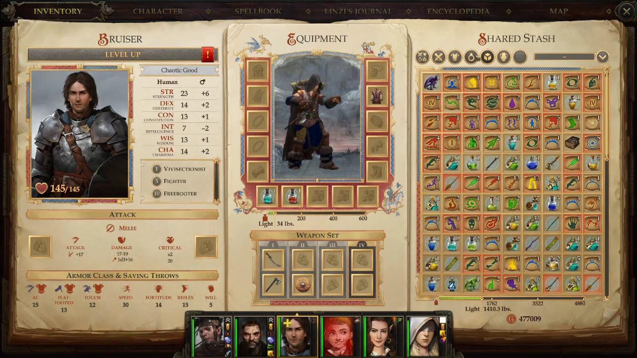 Pathfinder Kingmaker - Sword and Board Bruiser