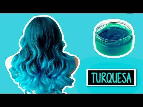 CREA TU TINTE TURQUESA CASERO TEMPORAL | Heyisalike ♥