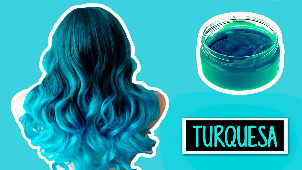 Crea Tu Tinte Turquesa Casero Temporal Heyisalike Youtube - Cual-es-el-color-turquesa