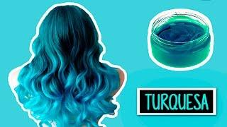 CREA TU TINTE TURQUESA CASERO TEMPORAL | Heyisalike ♥ thumbnail