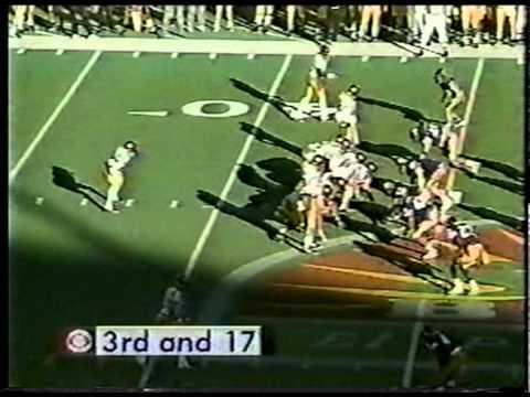 1995 Sun Bowl 2nd Half