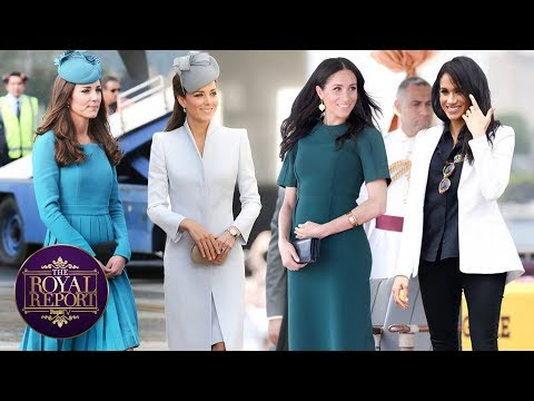 The Best Looks From Kate Middleton & Meghan Markle In 2019 | PeopleTV