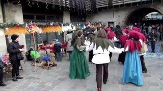 Mercatini di Natale di Mapello - esibizione di danze: reel