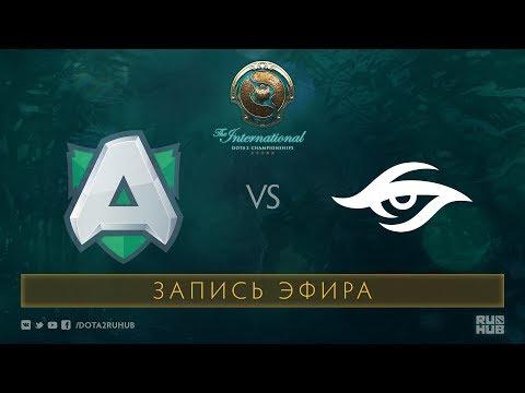 Alliance vs Secret, The International 2017 Qualifiers [Mortalez]