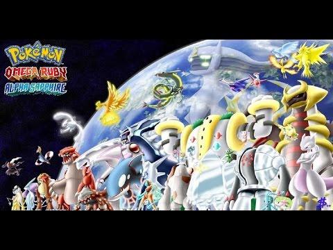 Pokemon Omega Ruby/Alpha Sapphire - All Legendary Pokemon Battle Theme [HD]