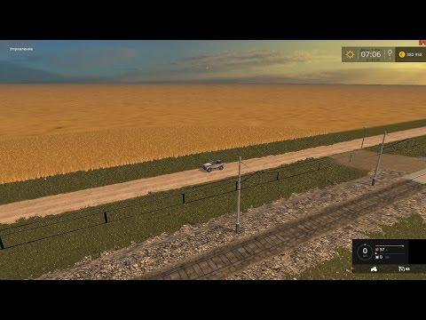 Farming Simulator 2015 карта Казахстан