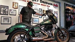David's Custom Harley-Davidson Dyna Low Rider S (FXDLS) │Walk-Around and Ride