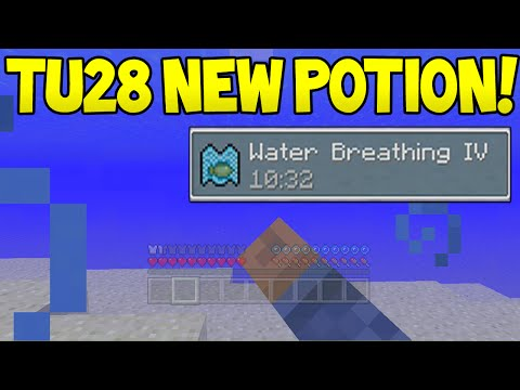 Minecraft (Xbox360/PS3) – TU28 Update! – Water Breathing Potion? + More Info!