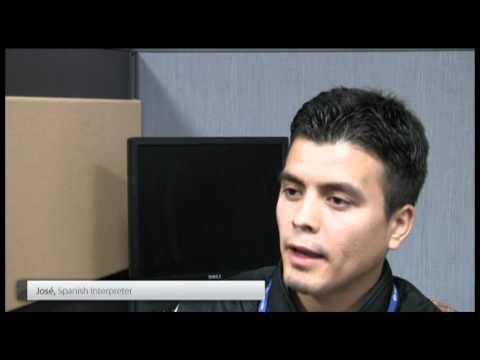 Interpreter Recruitment Video