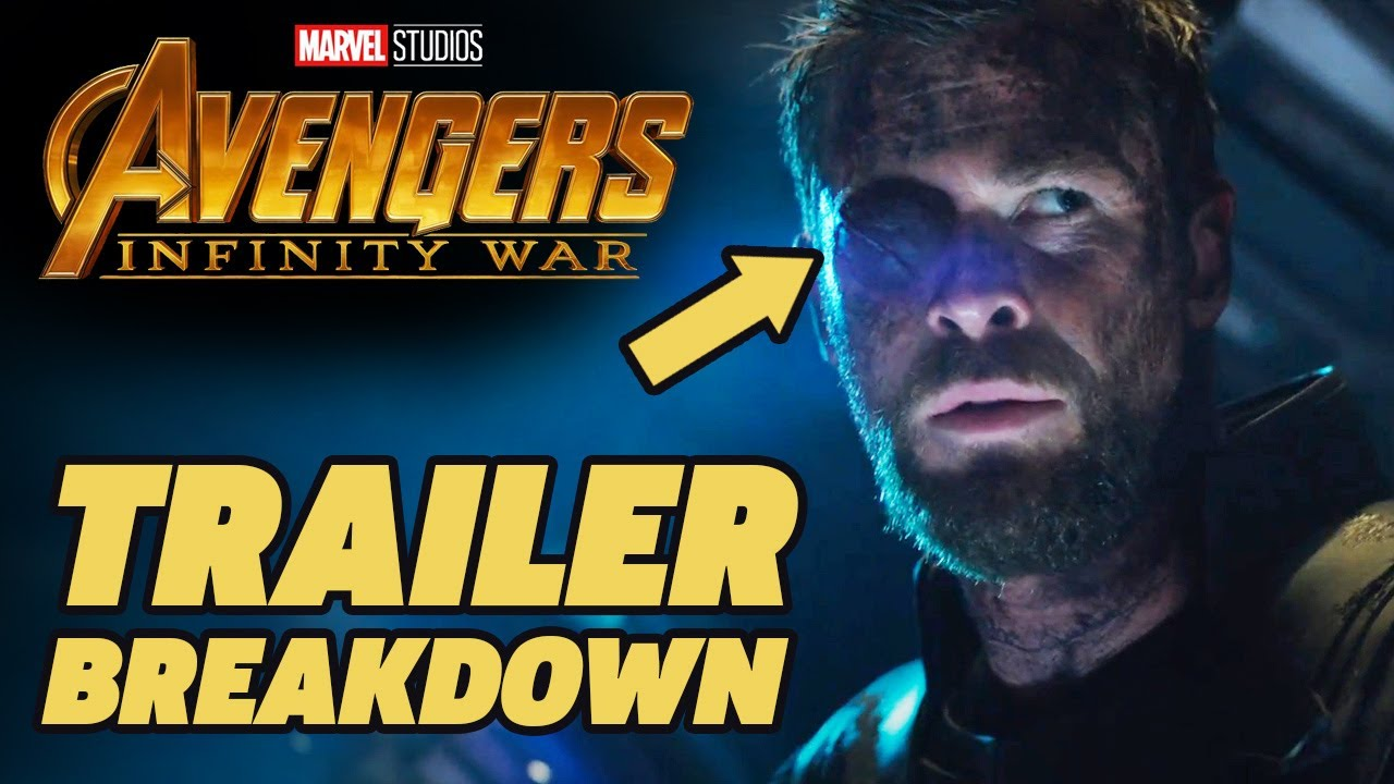 avengers infinity war trailer breakdown! - youtube