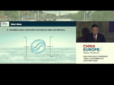 CEWP Mr Chen Lei, Minister of Water Resources, China 21.9.2017