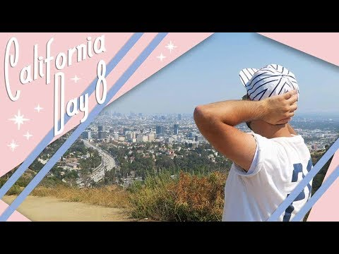 California | Day 8 Vlog | Goodbye to California  | July 2017 | Adam Hattan