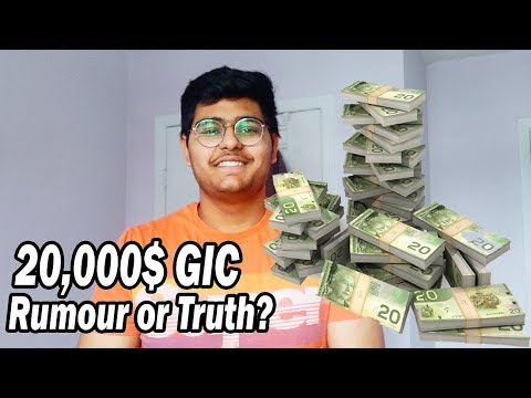 $20,000 GIC International Student || Luvraj Tyagi || Canada