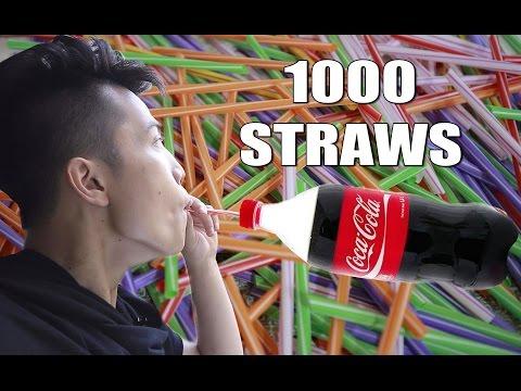 NTN - Ức Chế Uống  Coca Cola Với 1000 Ống Hút