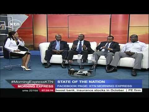 STATE OF THE NATION 5th November 2015 Kenya's Crumbing Economy