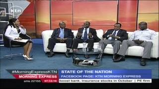 STATE OF THE NATION 5th November 2015 Kenya