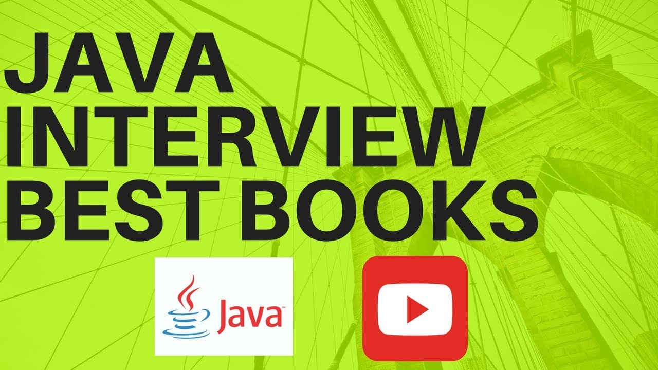 java interview best books java interview best books