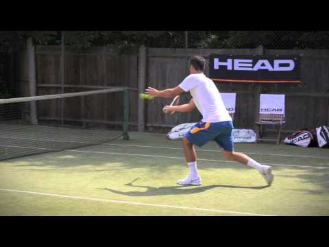 HEAD On Court - With Bernard Tomic Part 2