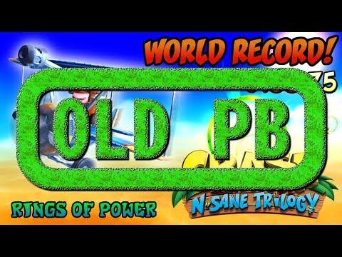 [Former World Record] Rings of Power (0:55:75) Platinum Relic - Crash Bandicoot N. Sane Trilogy