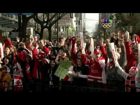 CTVs I Believe Montage After Sidney Cross Gold Medal Goal in Mens Hockey