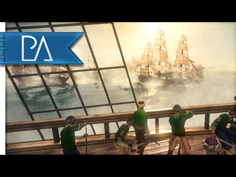 THUNDER OF THE SANTISIMA TRINIDAD - Darth Mod - Napoleon Total War Gameplay
