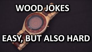 Tokyoflash Kisai Rogue Sr2 Wood Watch Unboxing & Overview