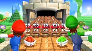 Mario Party 9 MiniGames - Mario Vs Luigi Vs Wario Vs Yoshi (Master Cpu)