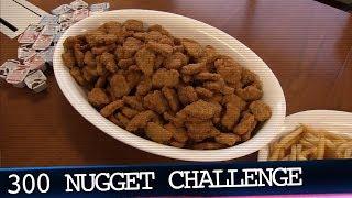 Burger King 300 Chicken Nugget Challenge!!!
