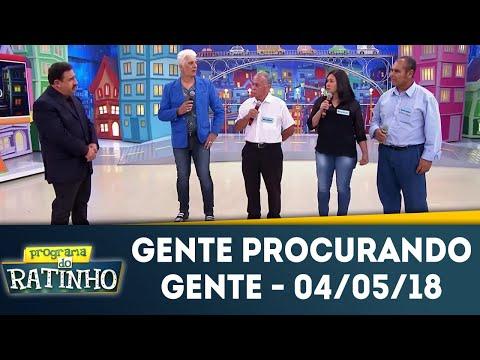 Gente Procurando Gente | Programa Do Ratinho (04/05/18)