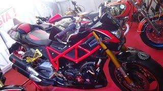 Download Video Full Custom Honda Tiger Modifikasi Bergaya Ducati Sreetfighter 848 MP3 3GP MP4