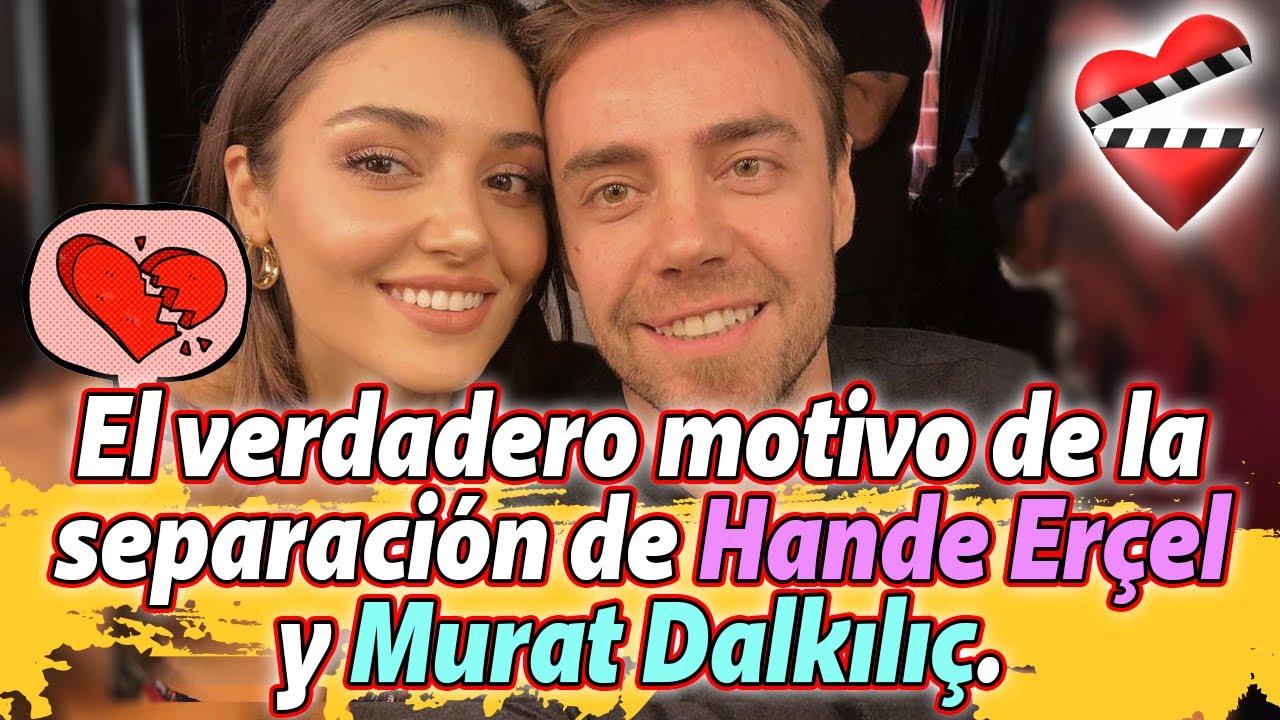 Motivo de la separación de Hande Erçel y Murat Dalkılıç / SEN CAL KAPIMI