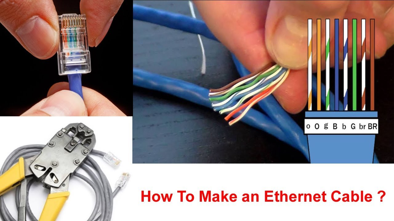 how to make an ethernet cable ethernet cable wiring diagram [ 1280 x 720 Pixel ]