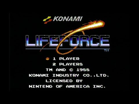 Life Force (NES) Full Run with No Deaths (No Miss)