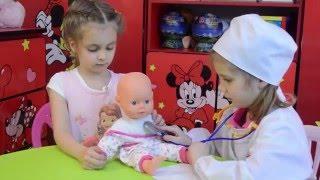 Вызов врача. Детская Игра.Детский канал Расти вместе с нами