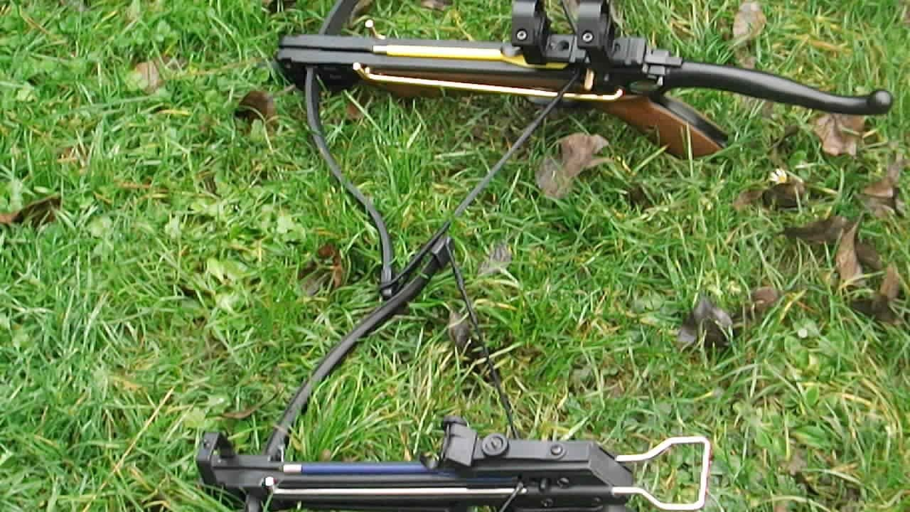 50lb vs 80lb pistol crossbow