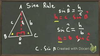 Solving Non Right Angled Triangles and the Sin Rule   Large