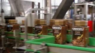 Nestlé Coffee Factory in Orbe, Switzerland